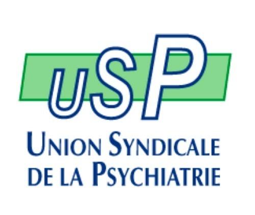 Logo Union syndicale de la psychatrie